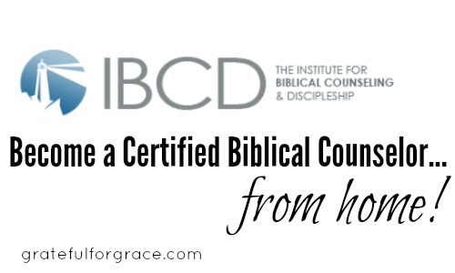 Biblical Counseling Training from Home and for Nearly Free ...