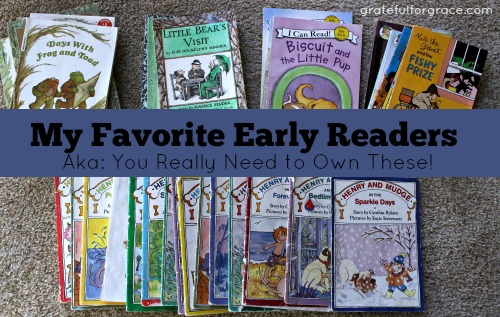 Favorite Early Readers WEB image