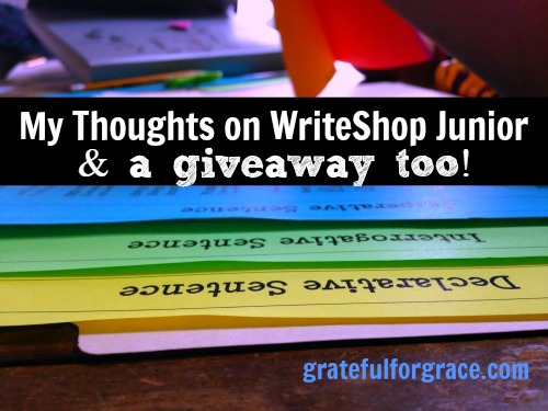 WriteShop Junior Review and Giveaway 2